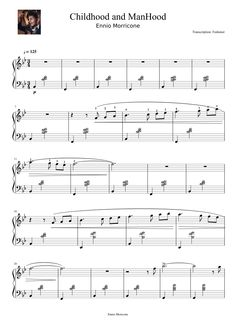 Sheet music for violin pop songs
