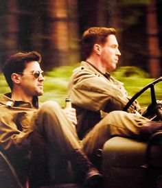 You may cool. But will you ever be Ron Livingston in aviators and fatigues drinking in a jeep cool?