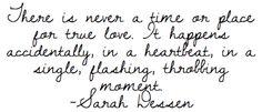-sarah dessen