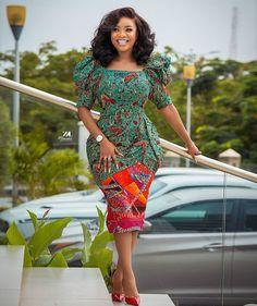 Ankara long gown styles African Fashion Ankara, Latest African Fashion Dresses, African Print Dresses, African Print Fashion, African Dress, African Style, Ghana Fashion, Nigerian Fashion, African Outfits