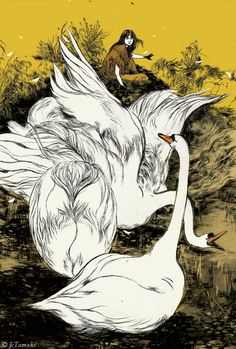 Stunning Illustrations for Irish Myths and Legends – Brain Pickings