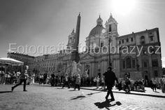 Setkávání na Piazza Navona