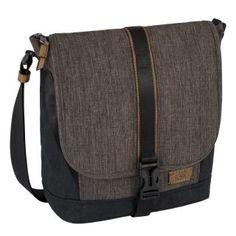 Umhängetasche camel active Tabletfach grau schwarz Gurtband - Bags & more Nylons, Camel, Messenger Bag, Satchel, Bags, Black, Beautiful Shoes, Handbags, Get Tan