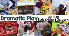 Dozens of dramatic play ideas for the early childhood classroom. Search by theme or simply find easy do-it-yourself pieces for your room.