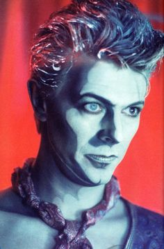 David Bowie as Screaming Lord Byron in Jazzing For Blue Jean video. David Jones, David Bowie Blue Jean, The Thin White Duke, Major Tom, Ziggy Stardust, Lady Stardust, Popular Music, Record Producer, Actors