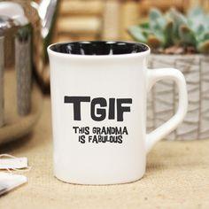 TGIF, Ceramic Mug