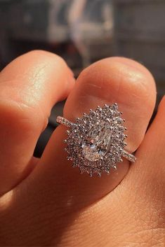 Vintage Engagement Rings With Stunning Details ❤ See more: http://www.weddingforward.com/vintage-engagement-rings/ #weddings #UniqueEngagementRings #engagementring