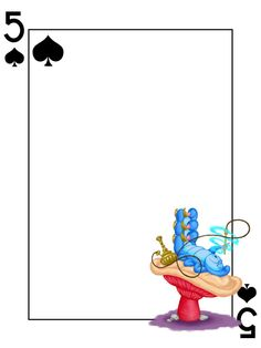 Journal Card - Caterpillar - Alice in Wonderland - Playing Card - 3x4 photo: A little 3x4inch journal card to brighten up your holiday scrapbook! Click on options - download to get the full size image (900x1200px). Clipart belongs to Disney. Font is Card Characters http://haroldsfonts.com/portfolio/card-characters/ ~~~~~~~~~~~~~~~~~~~~~~~~~~~~~~~~~ This card is **Personal use only - NOT for sale/resale/profit** If you wish to use this on a blog/webpage please include credits AND link back to…