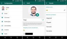 WhatsApp volta com status de frases personalizadas no Android
