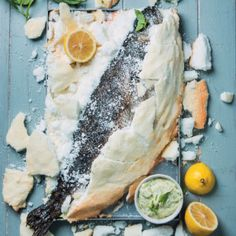 Salt-crusted Fish #F