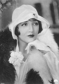 1920s flapper in hat photo head shot - Google Search