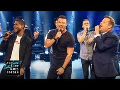 Sexiest Male Vocalist Riff-Off w/ Usher & Luke Evans - YouTube