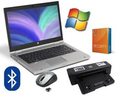 HP EliteBook 8460p 14 Zoll Laptop Notebook Bundle - Intel Core i5 2,5GHz DVD-Brenner - Windows