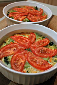 This Crustless Quinoa Veggie Pie comes together quickly and you can eat it for any meal of the day, or as a snack.