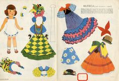 78.2836: Muneca | paper doll | Paper Dolls | Dolls | Online Collections | The Strong
