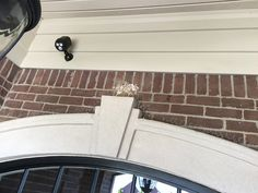 How I Keep Birds Off Of My Porch Cut Strips En Wire And Bent The Spikes Up To Discourage From Nesting On Front