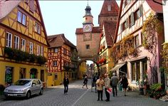 Rothenburg ob der Tauber,Alemania