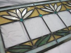 Leaded+Cottage+Style+Stained+Glass+Waterlily+by+RenaissanceGlass,+$400.00