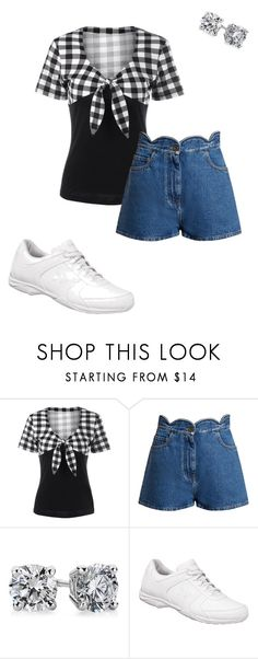 """""""Josephine's Outfit for Audrianna's Baby Shower"""" by thesassystewart on Polyvore featuring Valentino and Blue Nile"""