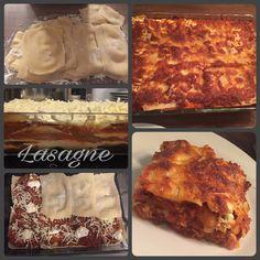 Lasagne mit selbst gemachten Nudelblättern