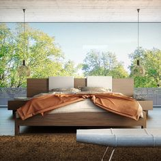 Monroe Bed from Modloft | YLiving