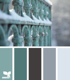 I would love this with a coordinating grey. --- Winter Tones Color Palette at Design Seeds Design Seeds, Colour Schemes, Color Combos, Paleta Pantone, Color Concept, Color Palate, Colour Board, Color Swatches, Color Stories