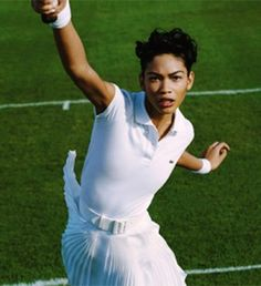 Althea Gibson (August 25th 1927 - September 28th 2003) was an American tennis player. Gibson turned pro at the age of 31 and was the first black tennis player to win Wimbledon (in 1957) and the U.S. Open (in 1958). Aside from her success, she is most remembered for breaking the color barrier in professional tennis. She won a total of five Grand Slam titles.