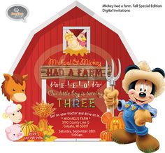 Mickey Farm. Fall Special Edition. Digital by IconicaDesign, $10.00