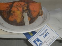 2015 Castle Hill Show 1st Marble Cake