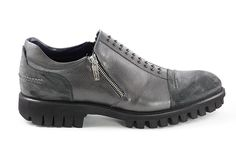 4103 Bagatto Shoes / Gray Side view