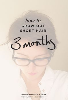 How to grow out short hair | 3 month stage. My hair journal of growing out an undercut. #pixiecut #fauxhawk #shorthair