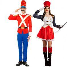 Pareja Soldadito de Plomo y Majorette #parejas #disfraces #carnaval #novedades2016