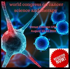 The entire world is focused on learning about cancer science  and Therapy , so this is the best opportunity to reach largest meeting of participants from the Cancer community. Distribute information, conduct presentations and meet with current and potential scientists.  Make a splash with new researches and its developments in this 2-day event at Cancer Science 2018 conference.