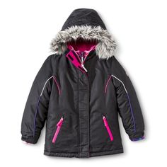 282cf550d2 R-Way by ZeroXposur Girls  3-in-1 Systems Jacket with Faux