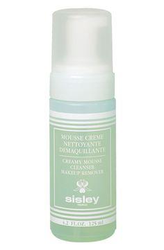 www.BonBonCosmetics.com - SISLEY Creamy Mousse Cleanser Makeup Remover 125ml/ 4.2oz, $74.99 (http://www.bonboncosmetics.com/sisley-creamy-mousse-cleanser-makeup-remover-125ml-4-2oz/)