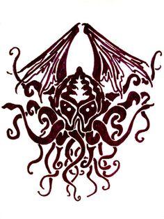 For Tony: Cthulhu Tattoo1 by =carlcom66 on deviantART
