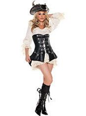 Adult Rouge Pirate Costume