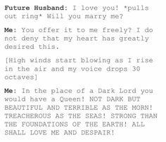 Lord of the rings proposal