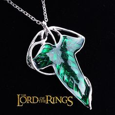 Here's you chance to own a reproduction of the leaf brooch worn by Frodo, Legolas, Argorn and other members of the Fellowship of The Lord of the Rings! It comes with a chain to wear as a necklace, als