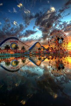 DisneyLand -- California