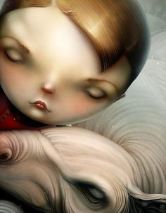 Scary Digital Illustrations by Anton Semenov