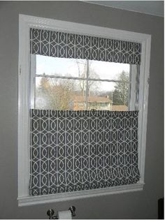 A Simple Panel To Cover The Bottom Half Of A Window