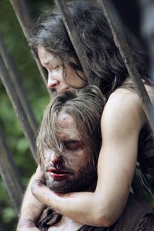 Season 3;episode 4: Every Man For Himself. Kate and Sawyer at the Hydra station.