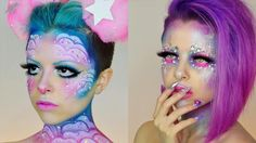 This Makeup Artist's Out-of-This-World Creations Go Way Beyond Skin Deep: Kimberley Margarita found a (sparkly) silver lining to her painful endometriosis: creating unforgettable makeup looks!