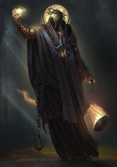 ArtStation - Cleric, Tony Sart