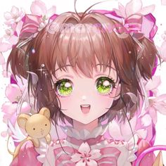 Sakura and Kero. Card Captor Sakura(´∀`)♡ Anime Angel Girl, Anime Girl Cute, Kawaii Anime Girl, Anime Art Girl, Manga Anime, Me Anime, Anime Chibi, Anime Expo, Cardcaptor Sakura