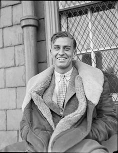 "James Roosevelt, son of President and Mrs. Roosevelt, 1930s. Served second in command of 2nd Marine Raider Battalion ""Carlson's Raiders"".  Gung Ho!"