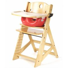 Keekaroo Height Right Kids High Chair With Insert And Tray Insert Color:  Cherry, Finish