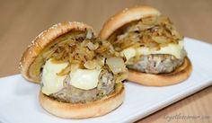 Pork, Apple and Brie Cheese Burgers Blog — Krystle's Corner