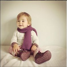 She's so happy and cozy with her new lanolino scarf. Available at our Etsy shop in different colours. We also have the matching hat. What a beautiful gift for Christmas!!!   #handwoven #merinowool #lanolino #etsy #babyclothes #baby #christmasgifts #scarf #handmadeloves #handmade